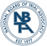 National Board of Trial Advocacy logo
